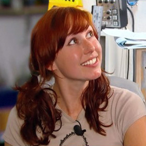 Something is. mythbusters redhead girl you tell